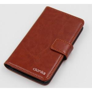 Чехол портмоне подставка с защелкой для ZTE Geek 2 Оранжевый