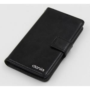 Чехол портмоне подставка с защелкой для ZTE Geek 2 Черный