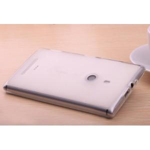 Силиконовый полупрозрачный чехол для Nokia Lumia 1320