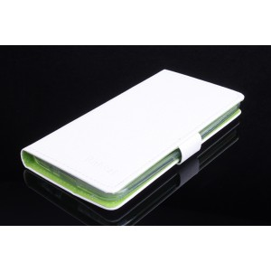 Текстурный чехол портмоне подставка с внутренними слотами и защелкой для Asus Zenfone 2