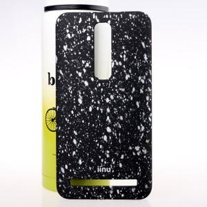 Пластиковый матовый дизайнерский чехол с голографическим принтом Звезды для Asus Zenfone 2