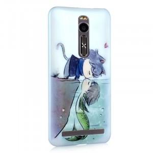 Пластиковый матовый дизайнерский чехол с УФ-принтом для Asus Zenfone 2