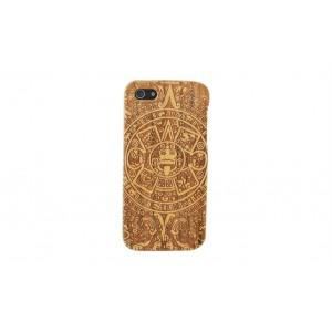 Эксклюзивный деревянный чехол сборного типа с лазерной художественной гравировкой ручной работы для Iphone 6 Plus