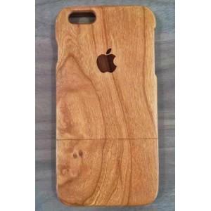Эксклюзивный деревянный чехол сборного типа с лазерной гравировкой логотипа для Iphone 6 Plus