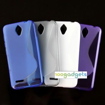 Силиконовый S чехол для Alcatel One Touch Idol 2 mini
