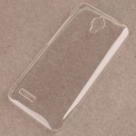 Пластиковый транспарентный чехол для Alcatel One Touch Idol 2 mini