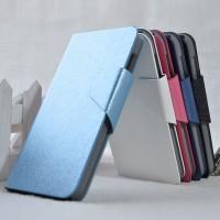 Текстурный чехол портмоне подставка на пластиковой основе с магнитной застежкой для Alcatel One Touch Idol 2
