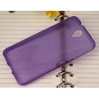 Силиконовый чехол для Alcatel One Touch Idol 2 Фиолетовый