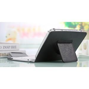 Текстурный универсальный чехол подставка на зажимах для Alcatel One Touch Hero 8
