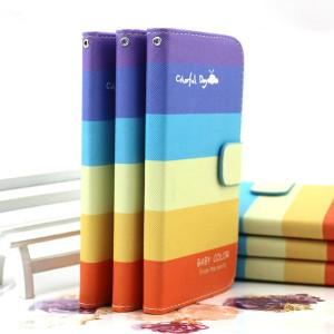 Чехол портмоне подставка с защелкой и полноповерхностным принтом для Alcatel One Touch Idol Mini