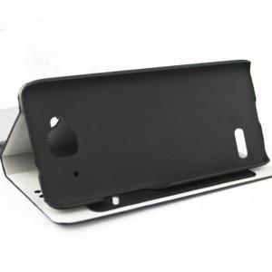 Чехол флип подставка с внутренним карманом для Alcatel One Touch Idol Mini