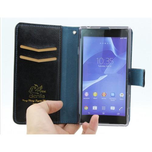 Чехол портмоне подставка с защелкой на силиконовой основе для Acer Liquid Z410