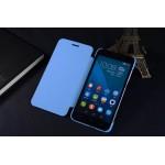 Чехол флип на пластиковой нескользящей основе с логотипом для Huawei Honor 4X