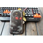 Пластиковый матовый дизайнерский чехол с УФ-принтом для Alcatel One Touch Pop S9
