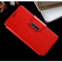 Чехол портмоне подставка с магнитной защелкой для ZTE Blade G Lux Красный