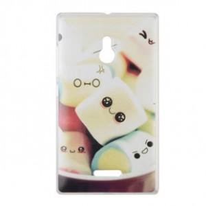 Пластиковый матовый дизайнерский чехол с УФ-принтом для Nokia XL