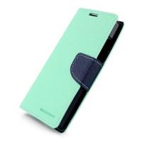 Дизайнерский чехол портмоне подставка с защелкой для Nokia XL Голубой