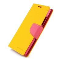 Дизайнерский чехол портмоне подставка с защелкой для Nokia XL Желтый