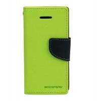 Дизайнерский чехол портмоне подставка с защелкой для ASUS Zenfone 5 Зеленый