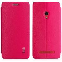 Текстурный чехол флип подставка на присоске для ASUS Zenfone 5 Пурпурный