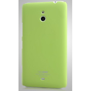 Пластиковый чехол для Nokia Lumia 1320 Зеленый