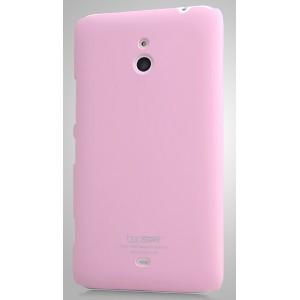 Пластиковый чехол для Nokia Lumia 1320 Розовый
