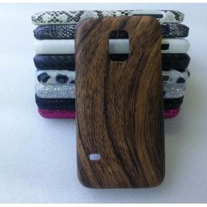 Эксклюзивный пластиковый дизайнерский чехол с аппликацией ручной работы серия Природа для Samsung Galaxy S5 Mini