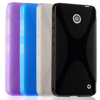 Силиконовый чехол Х для Nokia Lumia 630