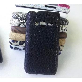 Эксклюзивный пластиковый дизайнерский чехол с аппликацией ручной работы серия Природа для Samsung Galaxy Ace 4