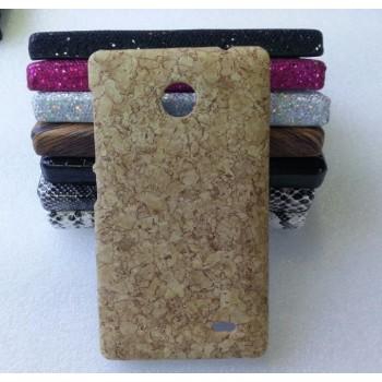 Эксклюзивный пластиковый дизайнерский чехол с аппликацией ручной работы серия Природа для Nokia X