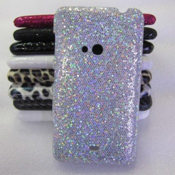 Эксклюзивный пластиковый дизайнерский чехол с аппликацией ручной работы серия Природа для Nokia Lumia 625