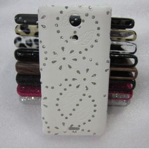 Эксклюзивный пластиковый дизайнерский чехол с аппликацией ручной работы серия Природа для Sony Xperia ZR