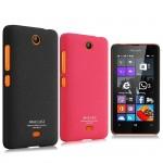 Пластиковый матовый чехол с повышенной шероховатостью для Microsoft Lumia 430 Dual SIM