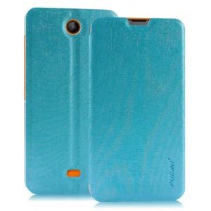 Текстурный чехол флип подставка на присоске для Microsoft Lumia 430 Dual SIM