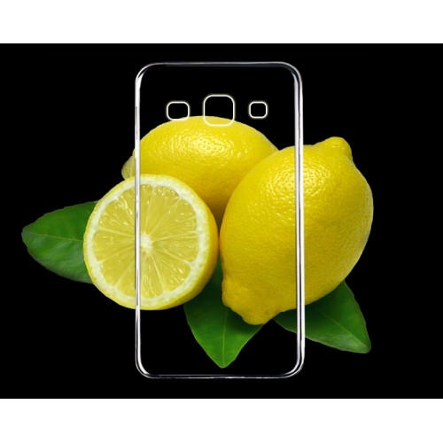 Силиконовый транспарентный чехол для Samsung Galaxy A7