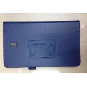 Чехол подставка с рамочной защитой для Samsung Galaxy Tab S 8.4 Синий