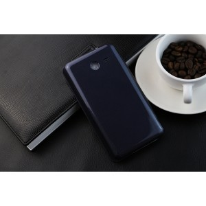 Полиуретановый встраиваемый чехол флип для Samsung Galaxy Core 2