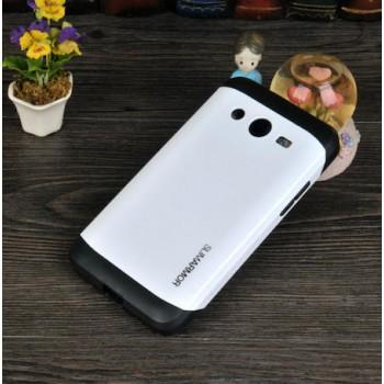 Двухкомпонентный гибридный чехол силикон/поликарбонат для Samsung Galaxy Core 2