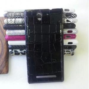Эксклюзивный пластиковый дизайнерский чехол с аппликацией ручной работы серия Природа для Sony Xperia C3