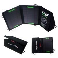 Переносное водоотталкивающее облегченное 300 гр зарядное устройство сборного типа на солнечных батареях 10 Вт (5 В, 1.5 А макс)