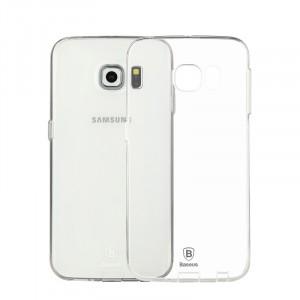 Силиконовый транспарентный чехол для Samsung Galaxy S6 Edge