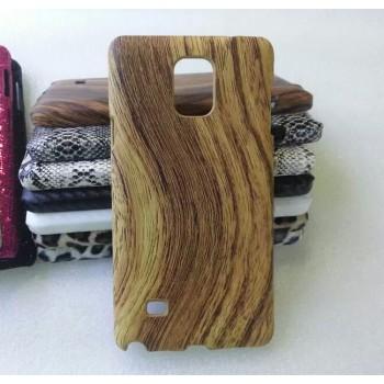 Эксклюзивный пластиковый дизайнерский чехол с аппликацией ручной работы серия Природа для Samsung Galaxy Note 4