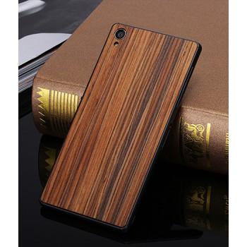 Ультратонкая 0.7 мм деревянная клеевая накладка из пород ореха и бамбука для Sony Xperia Z3