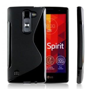 Силиконовый S чехол для LG Spirit