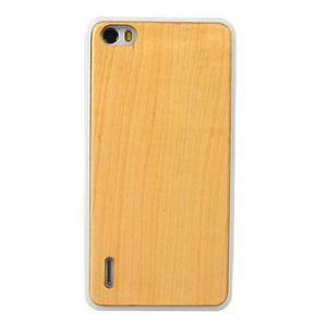 Эксклюзивный пластиковый чехол с деревянной накладкой из пород клена и ореха для Huawei Honor 6
