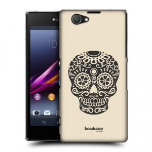Пластиковый матовый дизайнерский чехол с эксклюзивной серией принтов Skull Dream для Sony Xperia Z1 Compact (изготовление на заказ)