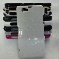 Эксклюзивный пластиковый дизайнерский чехол с аппликацией ручной работы серия Природа для Sony Xperia Z1 Compact