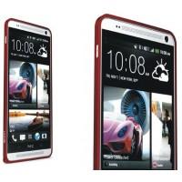 Ультратонкий бампер для HTC One Max Красный