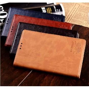 Чехол портмоне кожа с мраморным эффектом для HTC One Max