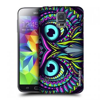 Пластиковый матовый дизайнерский чехол с эксклюзивной серией принтов для Samsung Galaxy S5 (изготовление на заказ)
